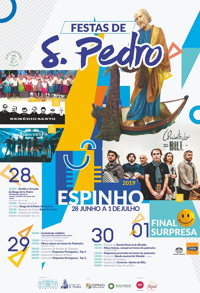 Festas de S. Pedro – Espinho 2019