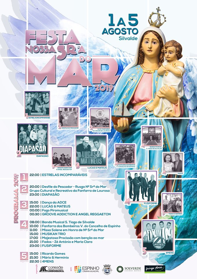 Festas Nª Srª do Mar – Programa 2019