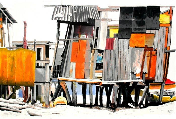 """Exposição """"Fragmentos Urbanos"""" de Rui Duarte"""