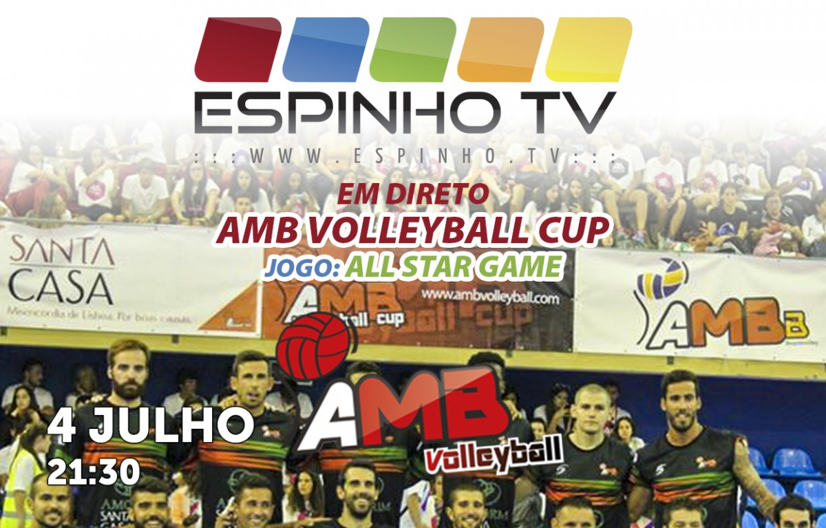 DIRETO: All Star Game do AMB Volleyball Cup 2019