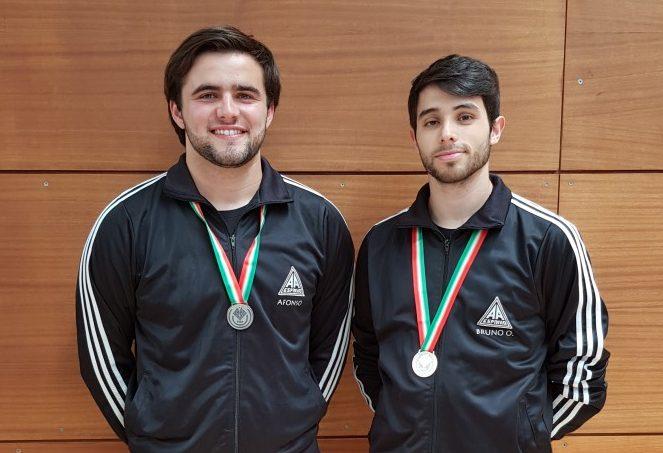 Bruno Oliveira Campeão Nacional em Trampolim Individual