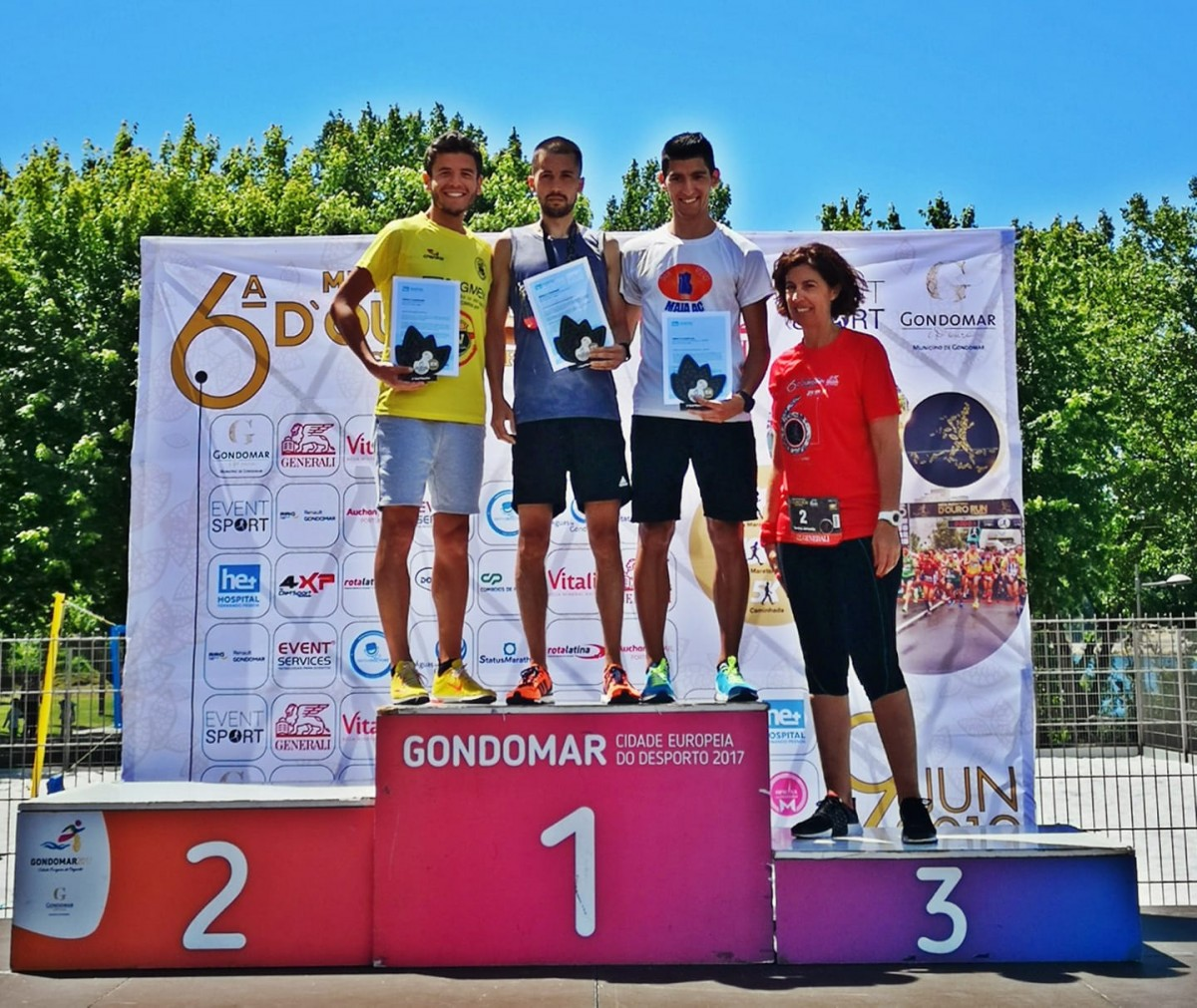 Atletismo: André Guimarães 2.º Classificado na D`Ouro Run Gondomar 2019