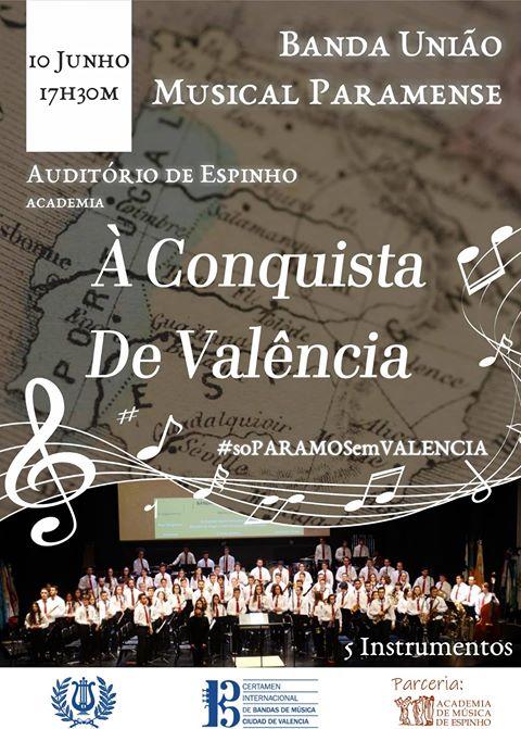 """Concerto """"À Conquista de Valência"""" pela BUMP"""