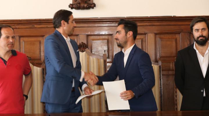 CME assina protocolo com a Associação Futebol Popular de Espinho