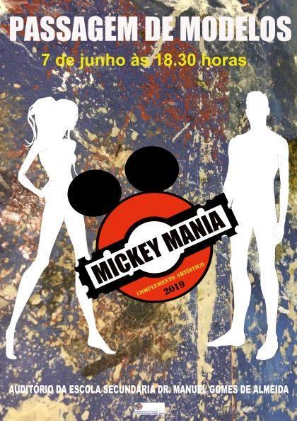 Passagem de Modelos – Mickey Mania
