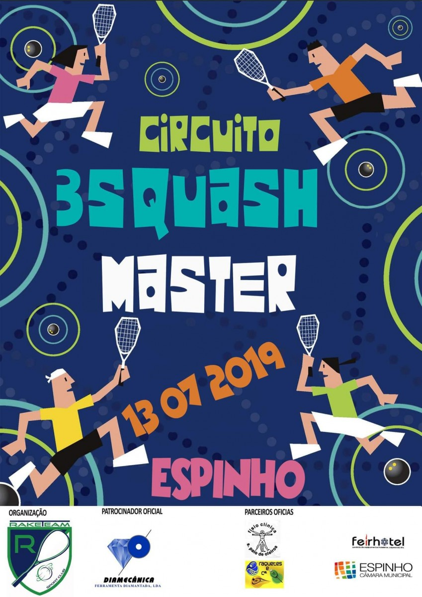 Circuito 3Squash Master 2019