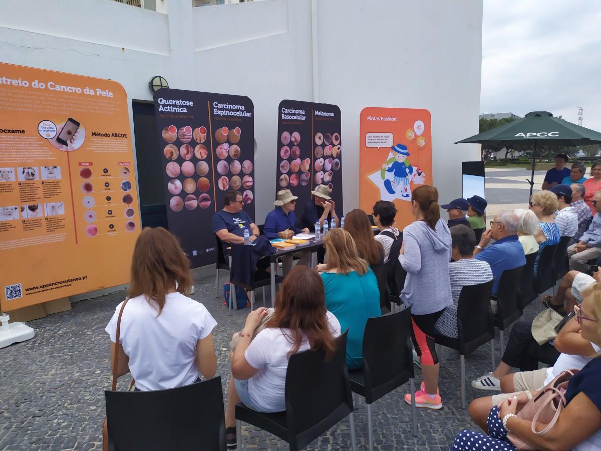 Associação Portuguesa de Cancro Cutâneo realiza ação em Espinho