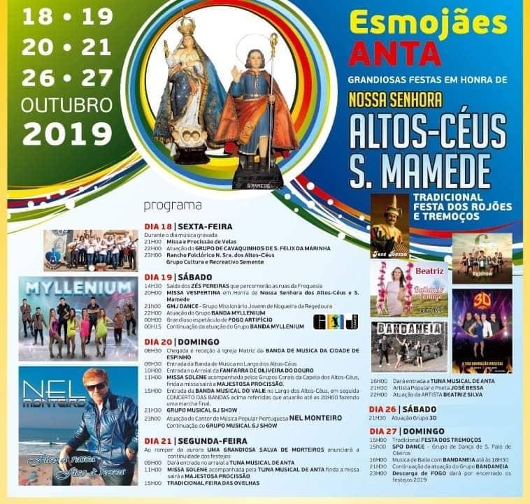 Festa Nossa Srª Dos Altos – Céus e S.Mamede 2019
