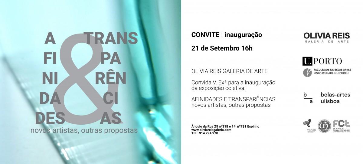 """Exposição """"Afinidas & Transparências"""""""