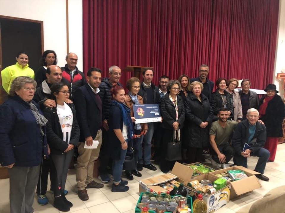 Espinho Beach Run entrega donativos à Cantina Solidária da Paróquia de Espinho