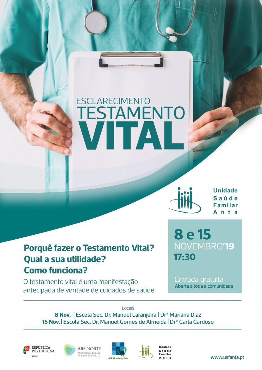 Esclarecimento sobre o Testamento Vital