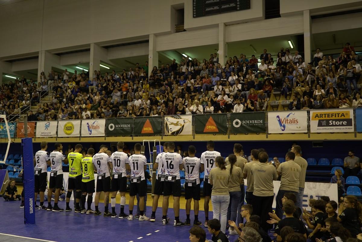Voleibol: SC Espinho Castêlo e Vitória
