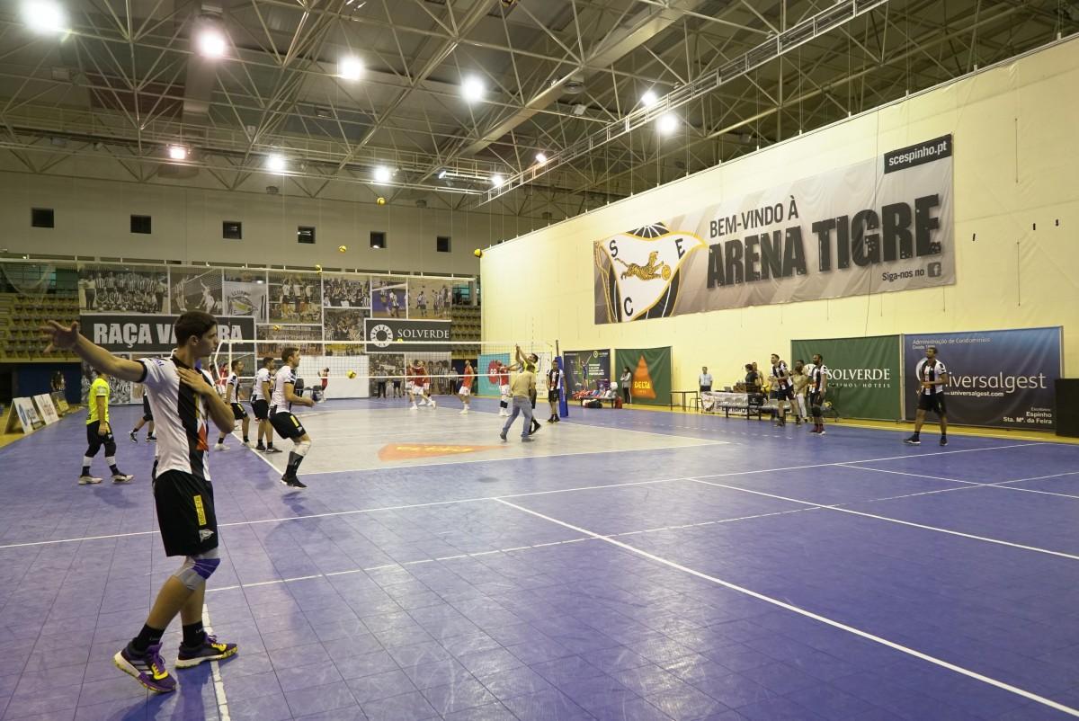 Voleibol: SCE soma mais três pontos