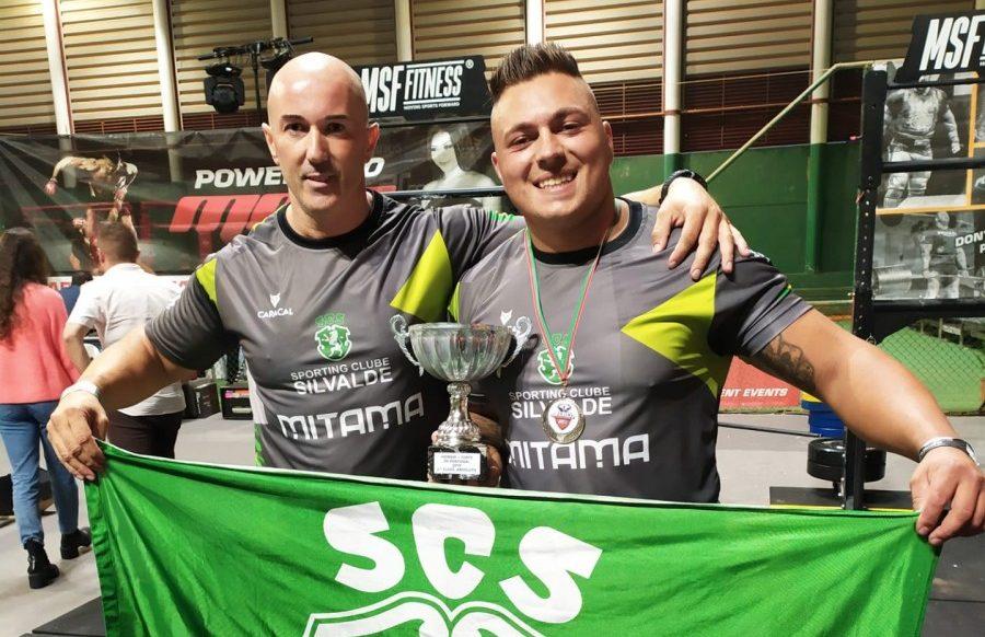 Atletismo SC Silvalde: 2º Lugar Homem Mais Forte Portugal