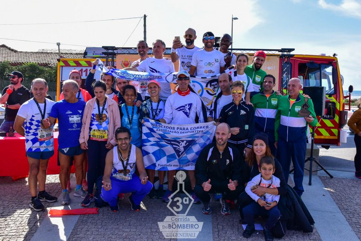 Atletismo do S. C. Espinho vence Corrida Bombeiro