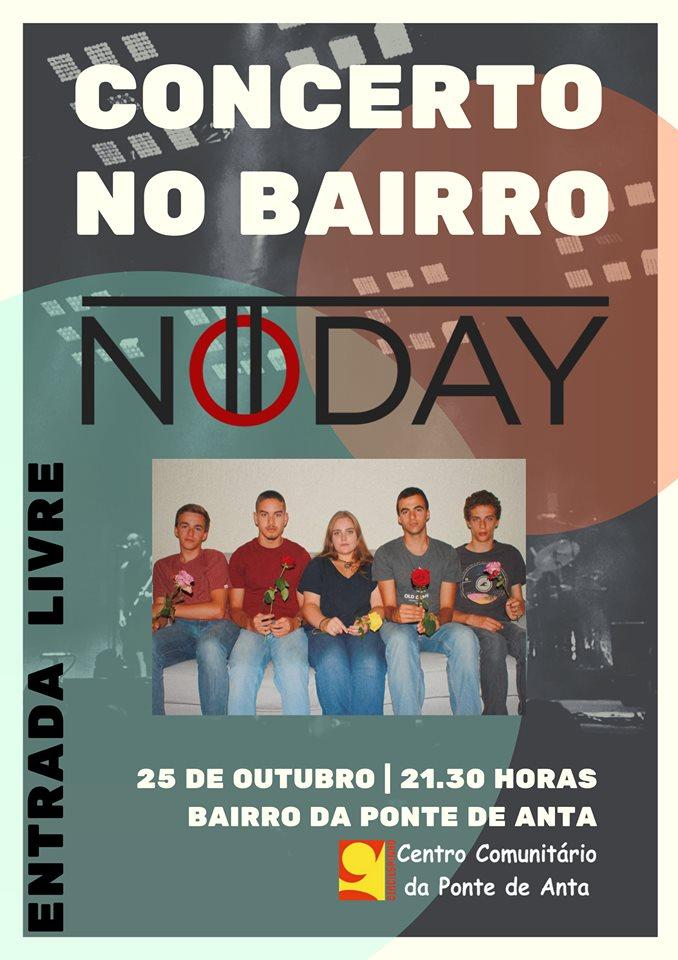 Concerto no Bairro – NoTToday