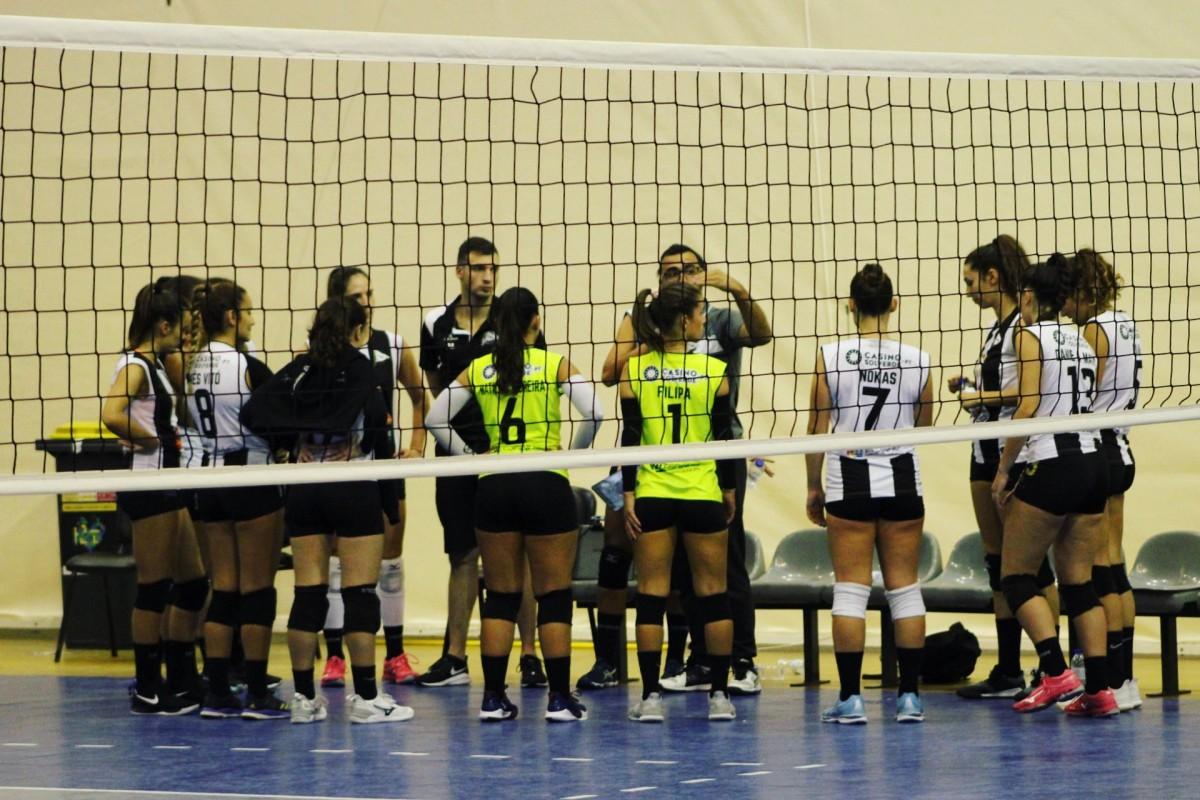 Voleibol SCE: Seniores femininas cedem perante líderes