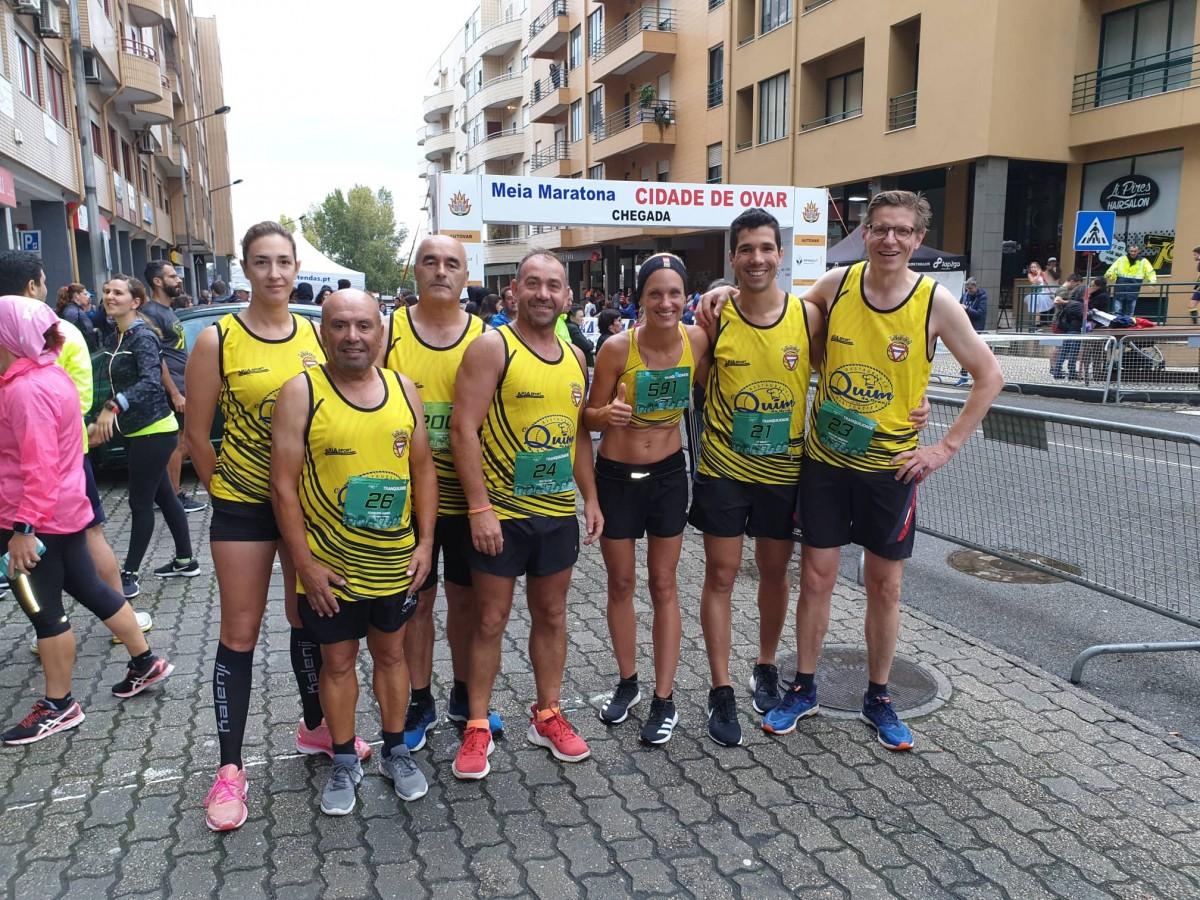 Rio largo na Meia Maratona de Ovar
